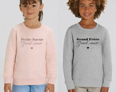 "Sweat ""Grand Coeur"""